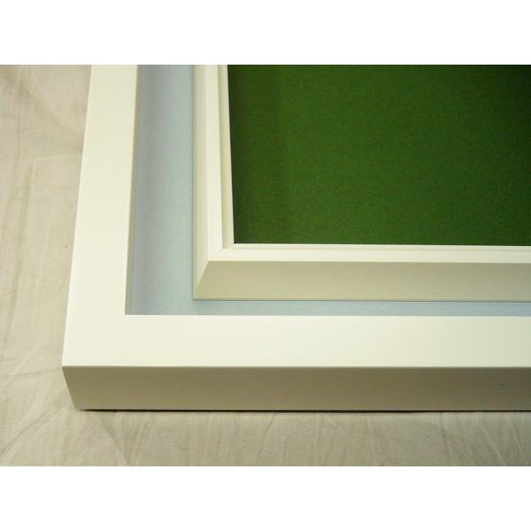額縁 油彩額 油絵額縁 木製フレーム アクリル 3441N サイズWF3号|touo|03