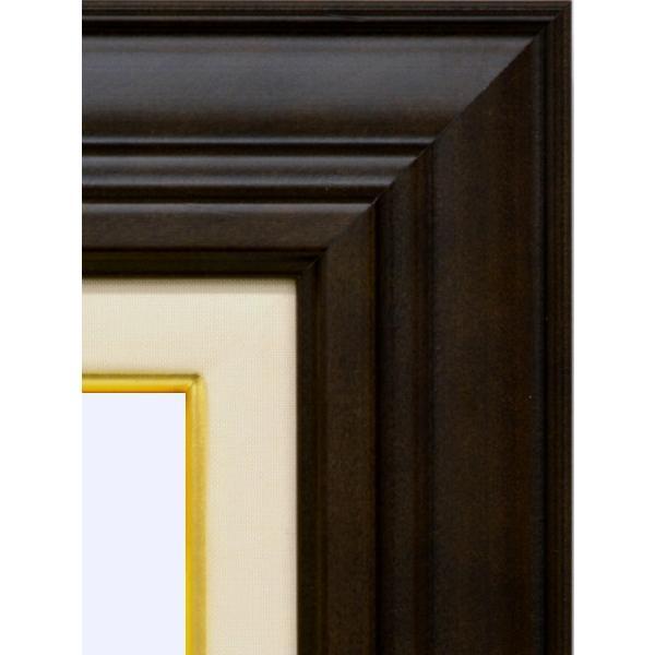 額縁 油絵額縁 油彩額縁 木製フレーム アクリル付 7741 サイズF6号 touo 02