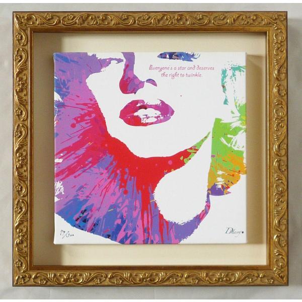 絵画 インテリア キャンバスアート 壁掛け 額縁付き DH はり作 「Thomas Alva Edison」|touo|02