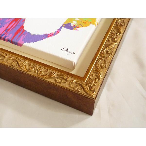 絵画 インテリア キャンバスアート 壁掛け 額縁付き DH はり作 「Thomas Alva Edison」|touo|04