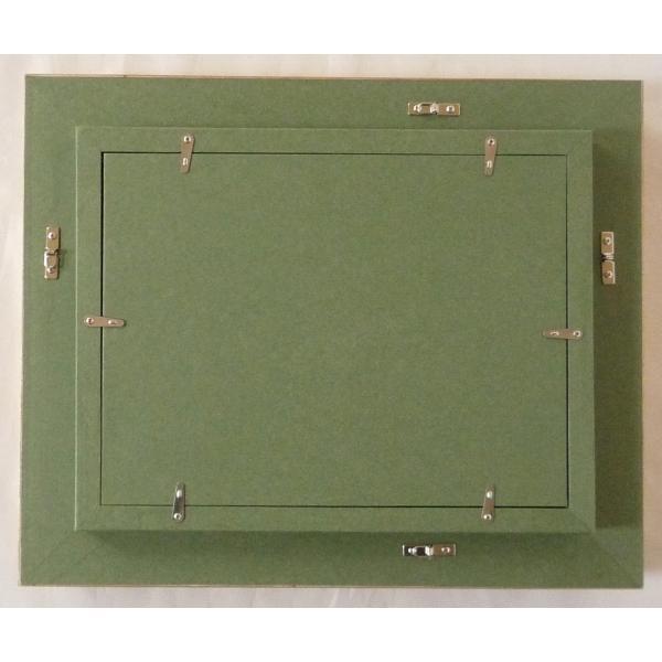 額縁 油絵額縁 油彩額縁 木製フレーム 万里 サイズF0号 touo 05