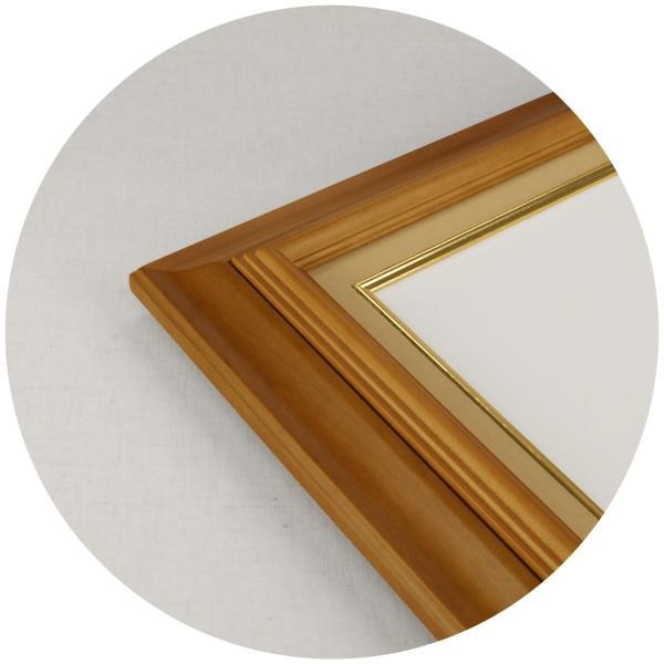 額縁 油彩額 油絵額縁 木製フレーム 不二型 サイズF0号 touo 02