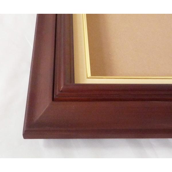 額縁 油絵額縁 油彩額縁 木製フレーム 不二型 サイズF6号|touo|04