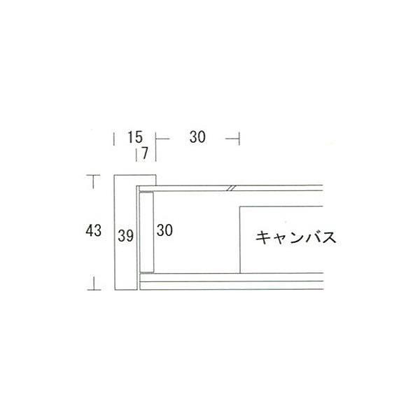 額縁 油絵額縁 油彩額縁 木製フレーム K-BOX サイズSM|touo|06