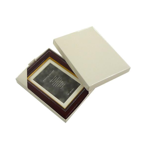 額縁 フォトフレーム 写真立て 木製フレーム C018 L マホガニ|touo|02