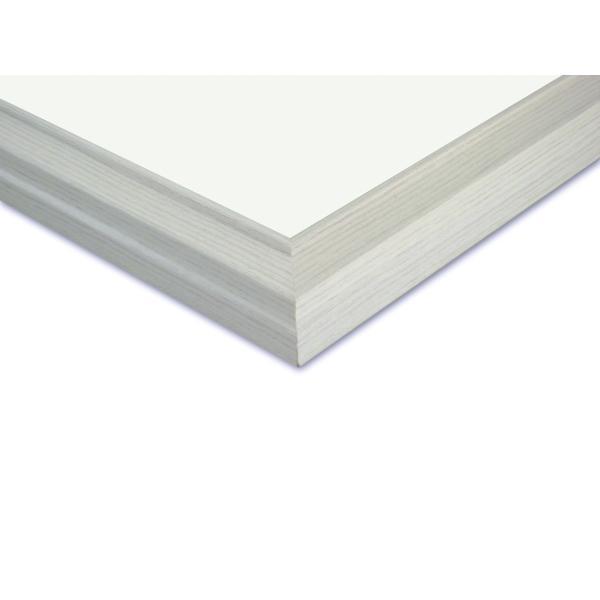 額縁 画用紙額縁 木製フレーム みんなの画用紙額 D481 画用紙四ッ切サイズ ホワイト|touo|03
