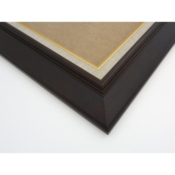 油絵額縁 油彩額縁 アートフレーム 木製 KL-02 サイズF6号|touo|03