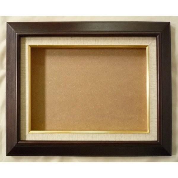 額縁 油絵額縁 油彩額縁 木製フレーム KL02 サイズF0号|touo