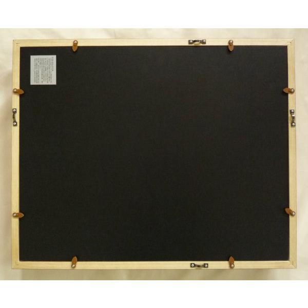 額縁 油絵額縁 油彩額縁 木製フレーム KL02 サイズF0号|touo|03