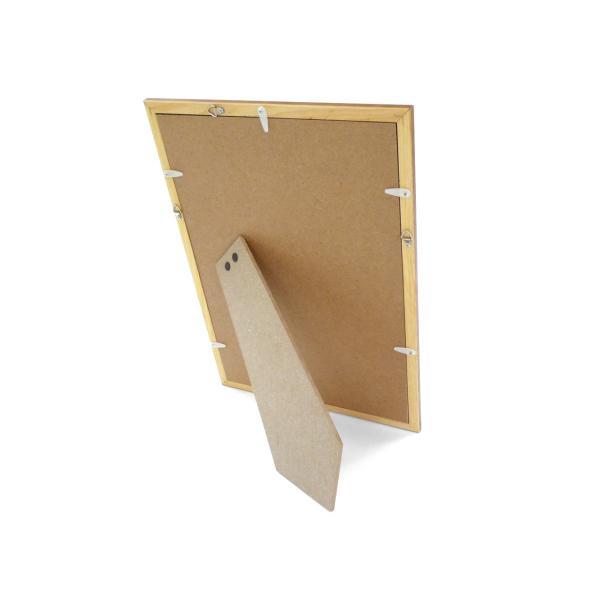 額縁 OA額縁 ポスター額縁 木製フレーム アロール A4サイズ ブラウン|touo|03