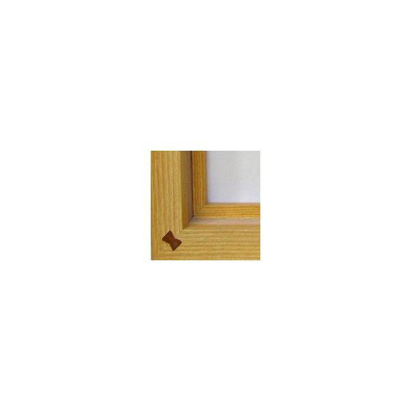 額縁 油絵額縁 油彩額縁 木製フレーム 仮額縁 平角No.2 サイズF0号|touo|05