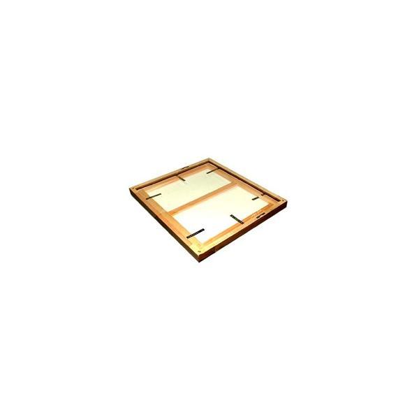 額縁 油絵額縁 油彩額縁 木製フレーム 仮額縁 平角No.2 サイズF0号|touo|06