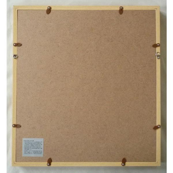 額縁 アートフレーム 色紙額縁 木製 K80|touo|03