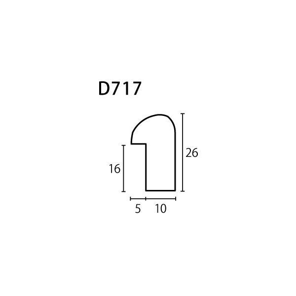 額縁 デッサン額 木製フレーム D717 大衣サイズ|touo|02