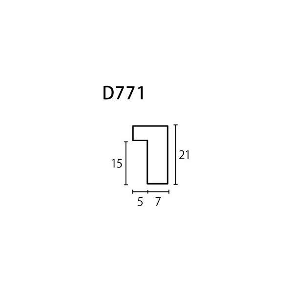 額縁 正方形の額縁 木製フレーム D771 サイズ400X400mm|touo|02