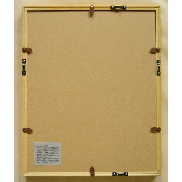 額縁 デッサン額縁 木製フレーム MM02 八ッ切サイズ|touo|02