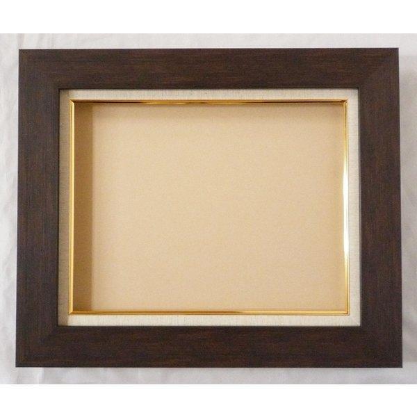 額縁 油絵額縁 油彩額縁 正方形の額縁 プラスム (8151) サイズF6号 S4号|touo