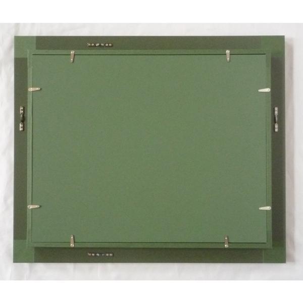 額縁 油絵額縁 油彩額縁 正方形の額縁 プラスム (8151) サイズF6号 S4号|touo|03