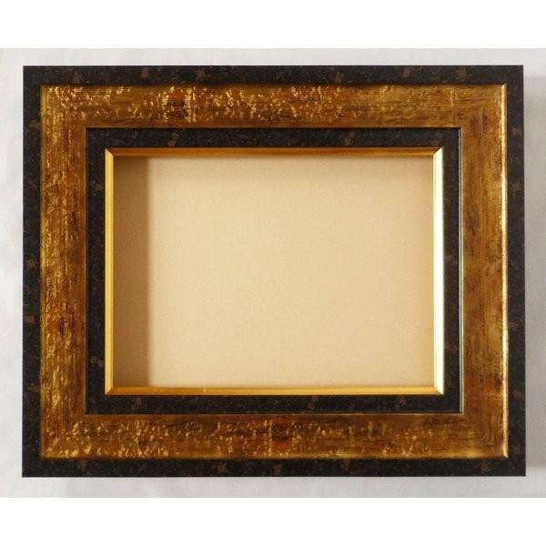 油絵額縁 油彩額縁 アートフレーム トアド (9653) サイズF4号 touo