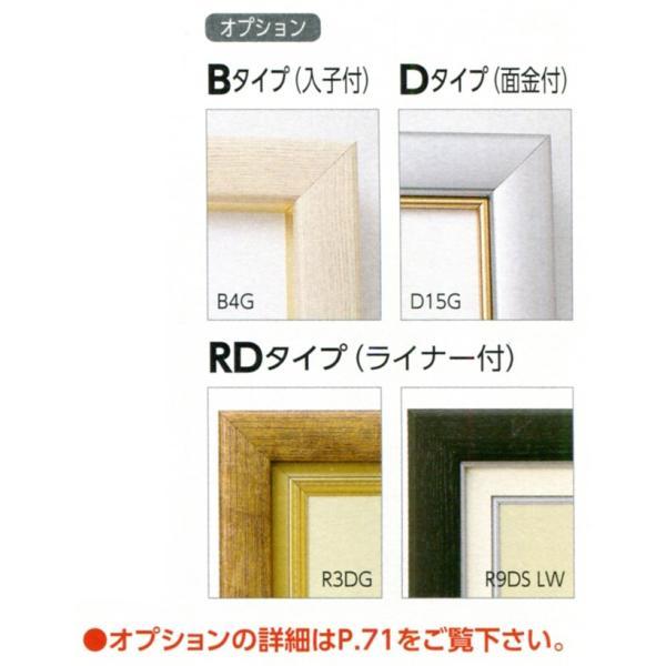 額縁 仮額縁 油絵額縁 油彩額縁 仮縁 アルミフレーム CD-22 サイズM150号|touo|03
