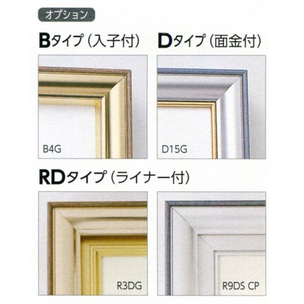 額縁 仮縁 油彩額 油絵額縁 仮縁 アルミフレーム CD-88 サイズP500号|touo|03