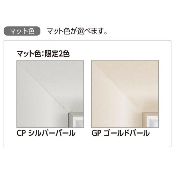 和額縁 日本画額縁 フレーム アルミ製 GV-36 サイズF20 touo 03
