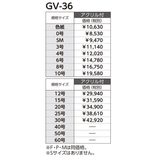 和額縁 日本画額縁 フレーム アルミ製 GV-36 サイズF20 touo 05