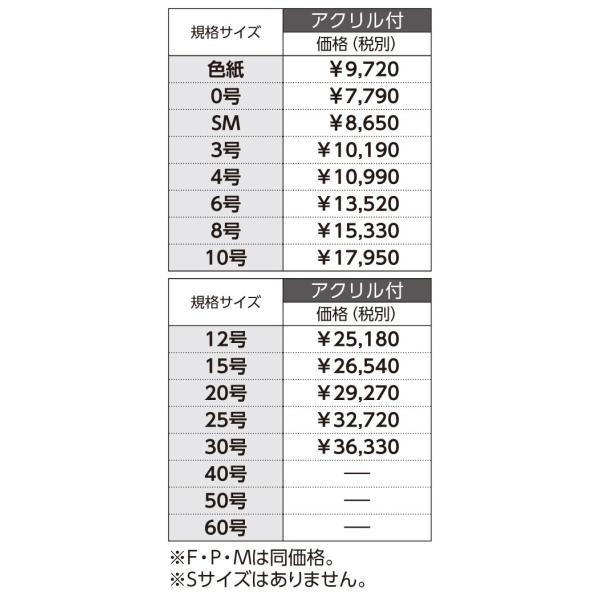 和額縁 日本画額縁 フレーム アルミ製 V-36 サイズM30|touo|05