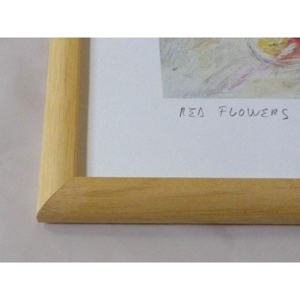 絵画 インテリア アートポスター 壁掛け ヨーロッパ製 (額縁 アートフレーム付き) 四ッ切サイズ -24-特価-|touo|02