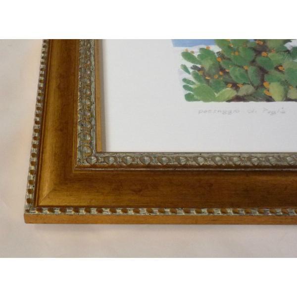 絵画 インテリア アートポスター 壁掛け ヨーロッパ製 (額縁 アートフレーム付き) シートサイズ50X70cm -5-特価-|touo|02