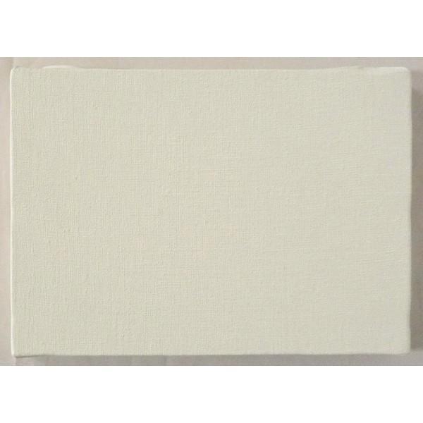 画材 油絵 アクリル画用 張りキャンバス 純麻 中目細目 A (F,M,P)0号サイズ|touo|03