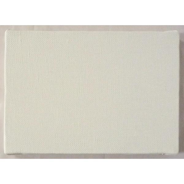 画材 油絵 アクリル画用 張りキャンバス 純麻 荒目双糸 BD (F,M,P)0号サイズ 10枚セット|touo|03