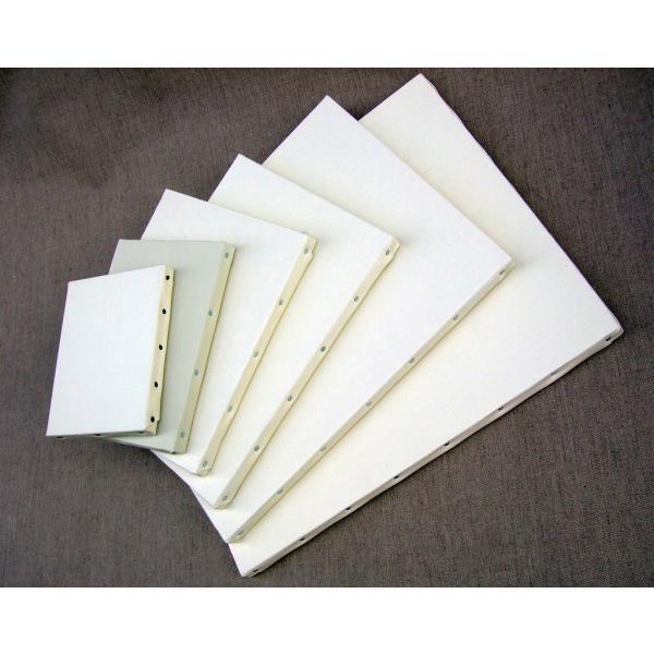 画材 油絵 アクリル画用 張りキャンバス 純麻 絹目 FS S15号サイズ 10枚セット|touo|06