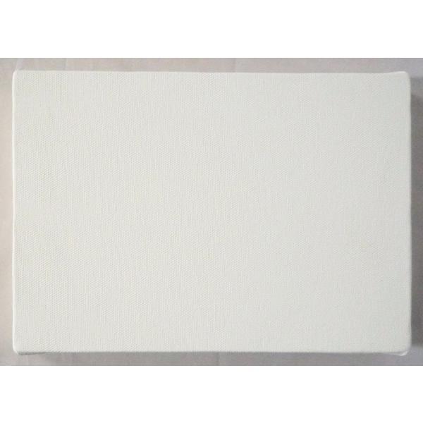 画材 油絵 アクリル画用 張りキャンバス 綿化繊 綿化繊混紡 TC (F,M,P)0号サイズ|touo|03