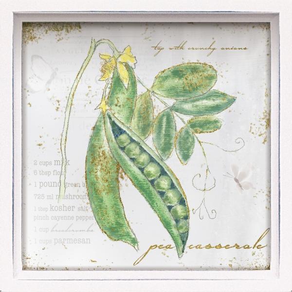 絵画 インテリア アートポスター ロハス ミニアートフレーム エミリー アダムス「ガーデン トレジャー3」|touo