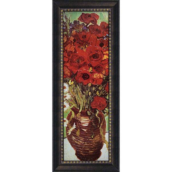 絵画 インテリア アートポスター ゴッホ「花瓶のデイジーとポピー」|touo