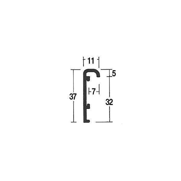 仮縁 オーダーフレーム オーダーメイド額 油絵額縁 「アフィックスO型」 ウッドブラック 組寸サイズ4000|touo|04