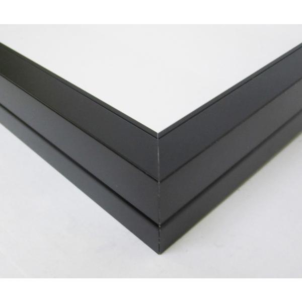 額縁 油彩額 油絵額縁 アルミフレーム F25 S20 A1 「プット26角」 ブラック touo 02