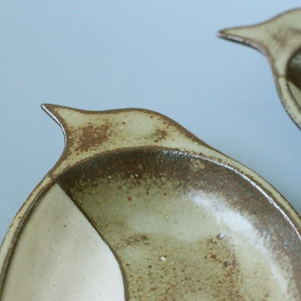 よしざわ窯 益子焼 oldwhite ペンギン皿 中皿|tourbillon-shop|04