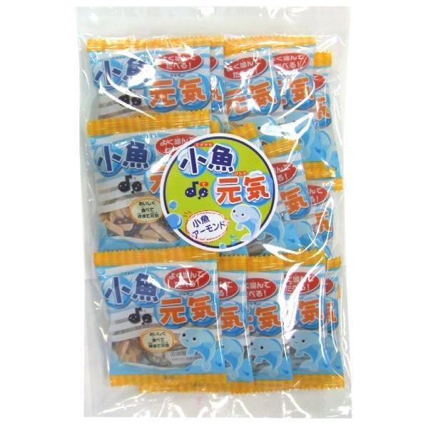 15パック 小魚アーモンド (120g) 国産ごまいりことアメリカ産アーモンド使用。