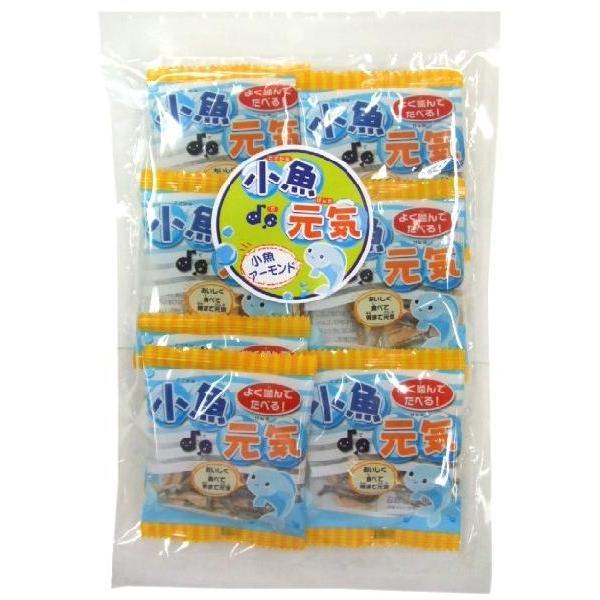 9パック 小魚アーモンド (72g) 国産ごまいりことアメリカ産アーモンド使用。