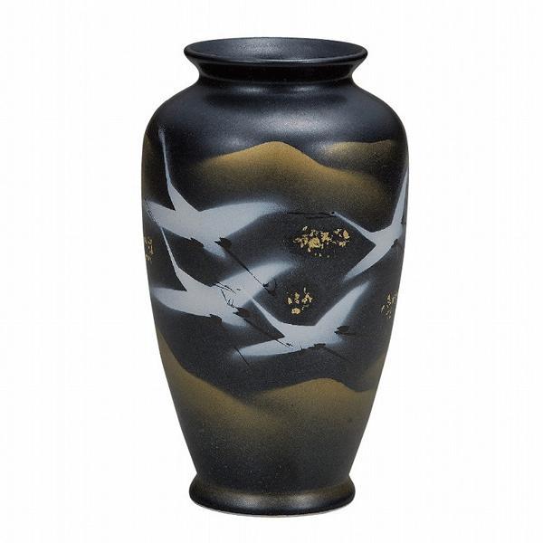 九谷焼 花瓶 8号花瓶・群鶴|towakouribu
