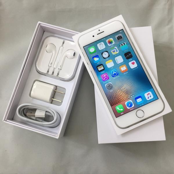 【SIMフリー】 iPhone6s 64GB シルバー 【中古 美品】 sim free ドコモ ソフトバンク au ワイモバイル 格安SIM対応 バッテリー1年保証 送料無料|towayshop|02
