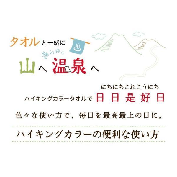 スポーツタオル 日本製 ハイキングカラー 約34×120cm towelmall 02