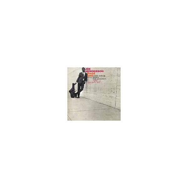 Joe Henderson Page One  CD