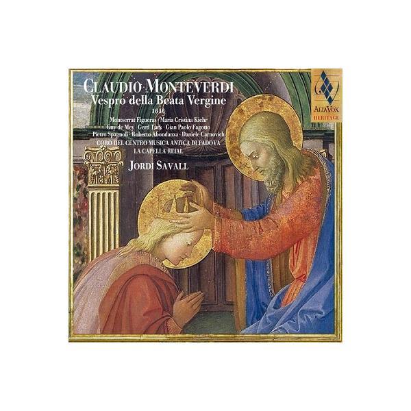 ラ・カペラ・レイアル・デ・カタルーニャ モンテヴェルディ: 「聖母マリアの夕べの祈り」(1610) SACD Hybrid