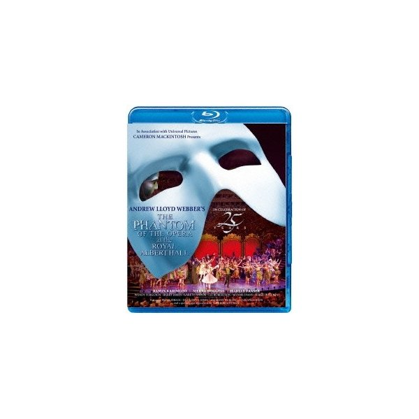 ラミン・カリムルー オペラ座の怪人 25周年記念公演 in ロンドン Blu-ray Disc