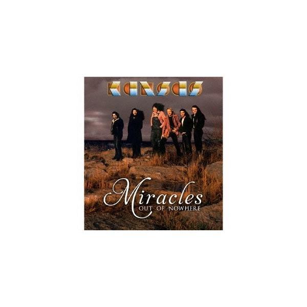 Kansas 奇跡(ミラクルズ・アウト・オブ・ノーウェア) [CD+DVD]<完全生産限定盤> CD