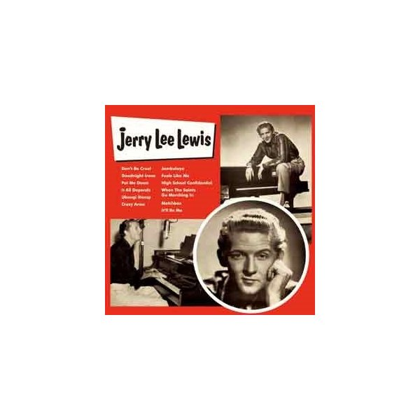 Jerry Lee Lewis ジェリー・リー・ルイス CD
