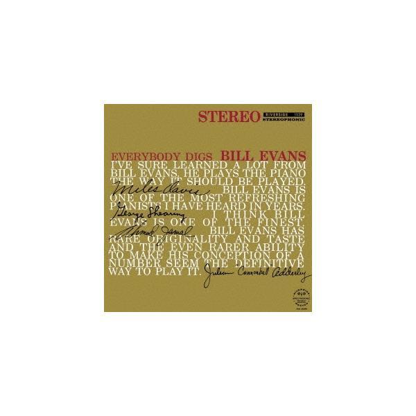 BillEvans(Piano)エヴリバディ・ディグズ・ビル・エヴァンス+1SHM-CD